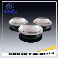 Magnifying glass biconvex lens