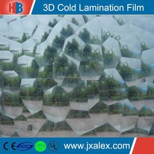 110mic High Quality Transparent Photo 3D Lamination Film For Photo Decoration