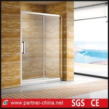 Customized European Style 8/10mm Thickness Glass Sliding Shower Screen