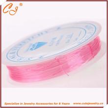 0.5mm crystal elastic rope,elastic tpu stretch string for bracelet making