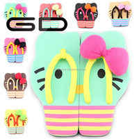 beautiful latest new model fashion flat summer slippers brand name for women