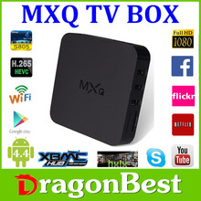 MXQ Android TV BOX Quad Core Amlogic s805 1GB+8GB Android 4.4 WIFI watch free movies Media Player