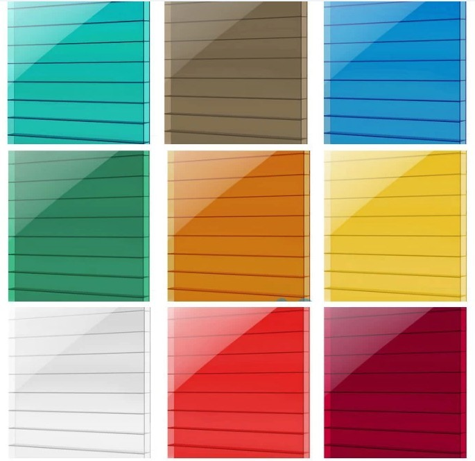 Sell 100 Virgin Materials Polycarbonate Roofing Sheet