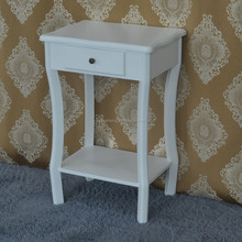 Bedroom furniture customized beige single drawer nightstand