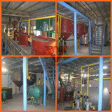 2015 New type and advanced crude oil refinery in industry oil refining for 3 ton per day