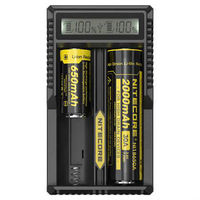 2015 New Product Nitecore UM20 Universal rechargeable 3.7V Li-ion Battery charger, 18650 battery charger
