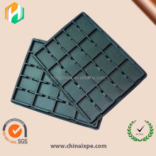 ESD absorbing tray foam for electronics