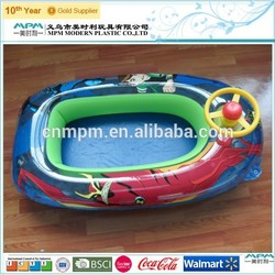 OEM children electric inflatable boat/funny inflatable boat