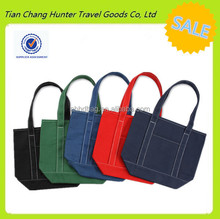 Alibaba China unisex dual handles cotton foldable reusable shopping bag many color available