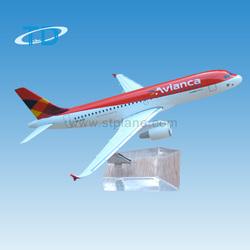 Diecast Airbus A319 Avianca 1:200 17cm child models top 100