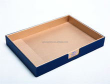 leather tray/dish
