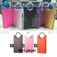 promotional gift mp3 player magic ring mp3 player with card slot and memory build in mp3 for choose