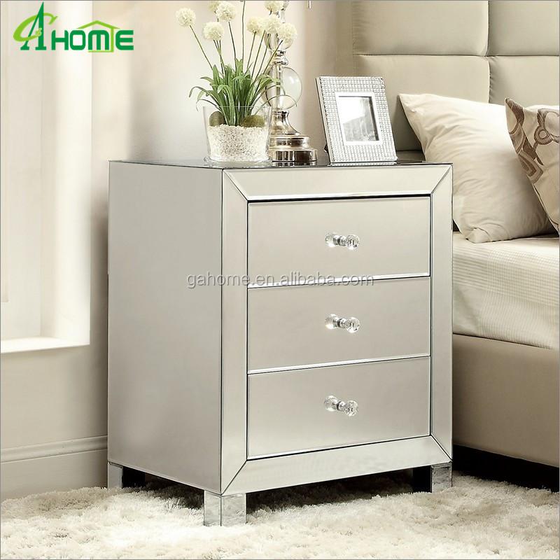 Modern Cute Living Room Mirror Bedside Nighstand Side Table Buy Mirror Nightstand Side Table