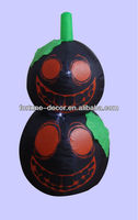 Inflatable Halloween black pumpkin