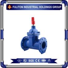 FM/UL ANSI Rubber -seat rising stem gate valve