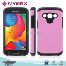 IVYMAX china suppliers bumpers smartphones metalic ultra slim android smart phone ultra slim android smart phone for G386t case