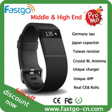 2016!!! smart bluetooth pedometer bracelet/bracelet with pedometer function/Stylish bracelet calorie pedometer.