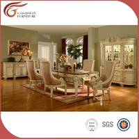 hot sale classic wooden cheap dining room sets