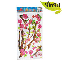 Hot sale traditional holidays kids height measurement wall sticker growth chart