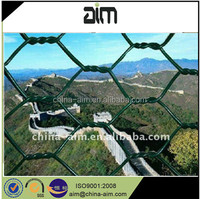 pvc coated hexagonal mesh