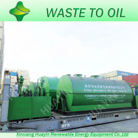 Quick Installation Waste Plastics Rubber Pyrolysis Plant to Diesel Sold to Indonesia