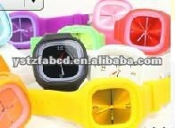 Practical& attractive silicone jelly Watch for promotion gifts