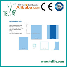 surgical delivery Packs with CE ISO 13485