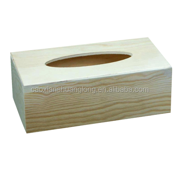 Wholesale wooden craved creative tissue boxes design ...