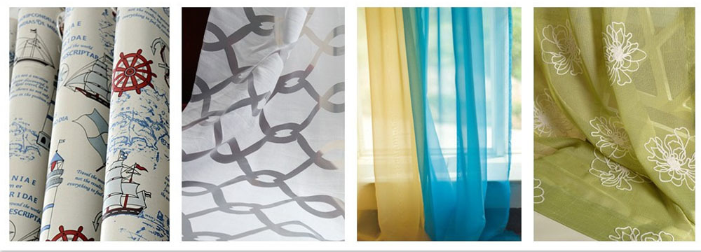20 years curtain factory Hot selling blackout curtain Newest design embroidery curtain fabric