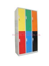 FEW-027 School Furniture Metal Clothes Locker for 6 Doors