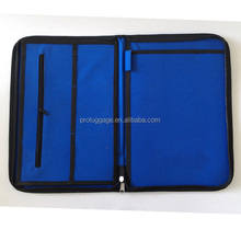 600D blue small briefcase for your easy carry of files