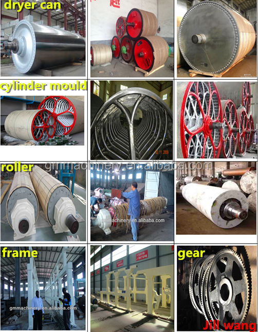 Zhengzhou Guangmao2014 new products 1880mm Toilet/tissue paper making machine,paper machinery,paper recycling machine price