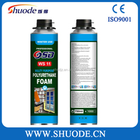 waterproof insulation wall pu foam sealant