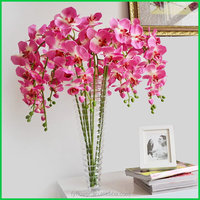 Top quality stylish mini orchid artificial plants