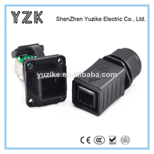hecho en china usb hembra para ethernet rj45 macho adaptador rj45 cable conector