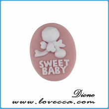 2015 New arrival !!! High quality fashion new design eco-friendly flat back character resin