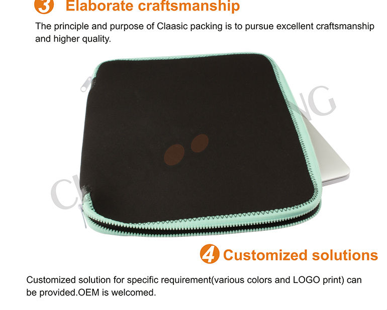 fashion nylon neoprene laptop bag