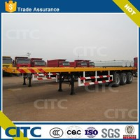 2015New Made CITC Brand Container Trailer for 20ft-40ft Transportation