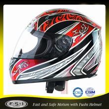DOT FUSHI ABS full face foshan motorcycle helmets wholesale