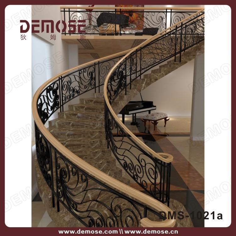 en marbre pr fabriqu s escaliers avec en fer forg. Black Bedroom Furniture Sets. Home Design Ideas