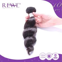 Customize Natural Color Remy Brazilian Hair Weave 1B 33 27 Color