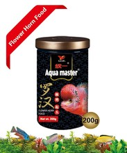Peces Ornamentales : Aqua master Flower Horn alimentación 500 gramo