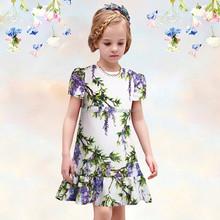 2015 Summer girls dress casual sleeveless dresses kids clothes