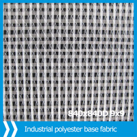 Polyester base fabric, warp knitting farbic for coated, coated composition