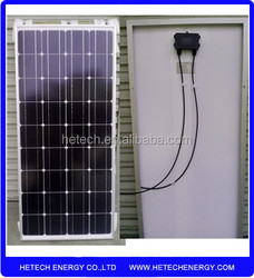 Buy from china online monocrystalline solar panel 85w with low cost
