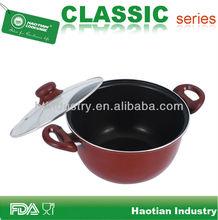Aluminum deep turkey frying pot,chips frying pot