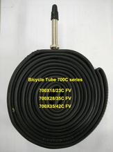 butyl bicycle inner tube 700C series FV