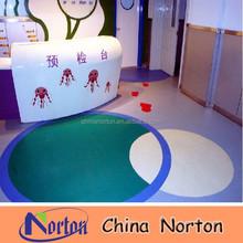 colorful pvc flooring , pvc commercial floor roll NTF-PC135B