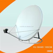 ku band 100cm high gain outdor digital satellite dish antenna