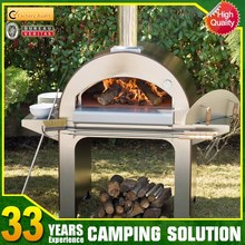 Outdoor Wood Fired Stainless Steel Pizza Oven